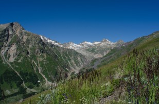 Valley to the south of Mt Elbrus