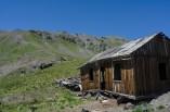Abandoned herders shack