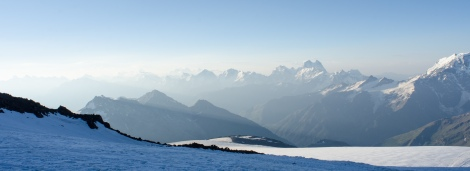 Early morning on Mt Elbrus